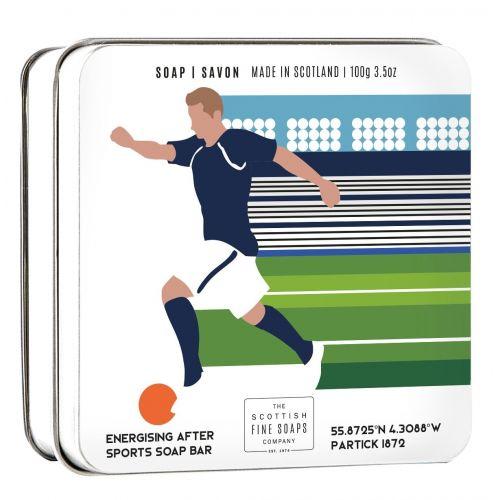 SCOTTISH FINE SOAPS / Mydlo v plechovej krabičke Futbal - 100 g