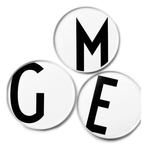 DESIGN LETTERS / Porcelánový tanier Letters