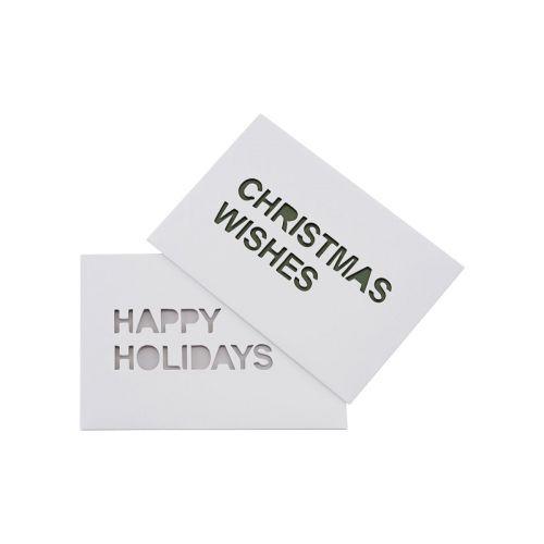 MONOGRAPH / Vianočné prianie X-mas - set 2ks