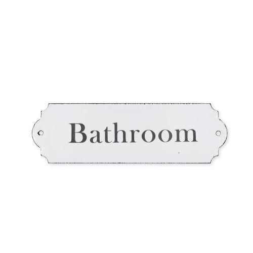 Garden Trading / Kovový štítok Bathroom