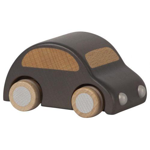 Maileg / Drevené autíčko Anthracite