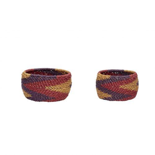 Hübsch / Pletený košík Paper Rope