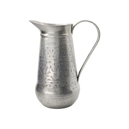 meraki / Hliníkový džbán Althea Antique Silver