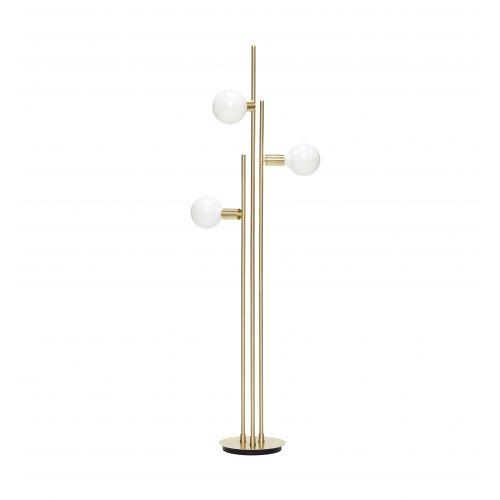 Hübsch / Stojacia lampa Triple Brass
