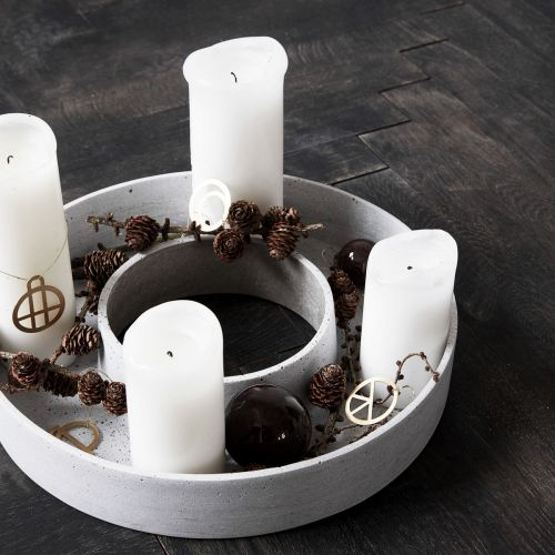 House Doctor / Adventný svietnik Ring 35 cm