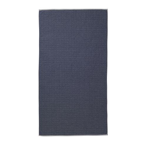 ferm LIVING / Osuška Sento Blue 100x180 cm