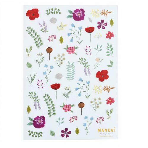 MANKAI Paper / Samolepky Polnočná záhrada