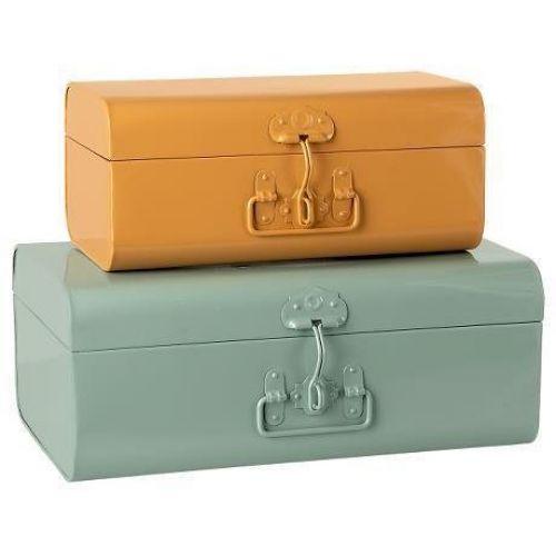 Maileg / Kovový úložný kufrík Maileg