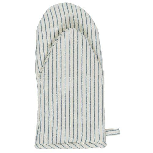 IB LAURSEN / Bavlnená chňapka Blue Stripe
