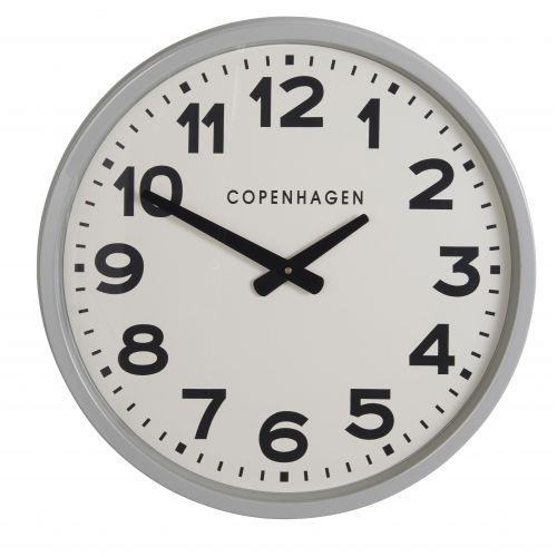 IB LAURSEN / Nástenné hodiny Copenhagen Grey 52cm