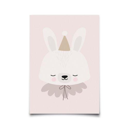 EEF lillemor / Pohľadnica Circus Bunny