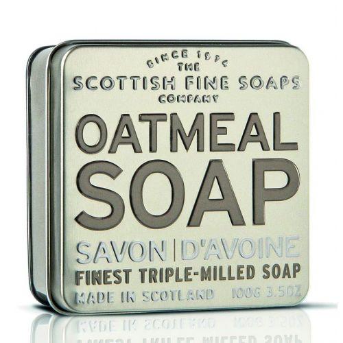 SCOTTISH FINE SOAPS / Darčekové mydlo v plechovke - ovos