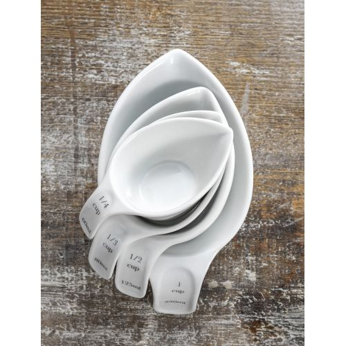 Garden Trading / Porcelánový set odmerek Rialto - 4 ks