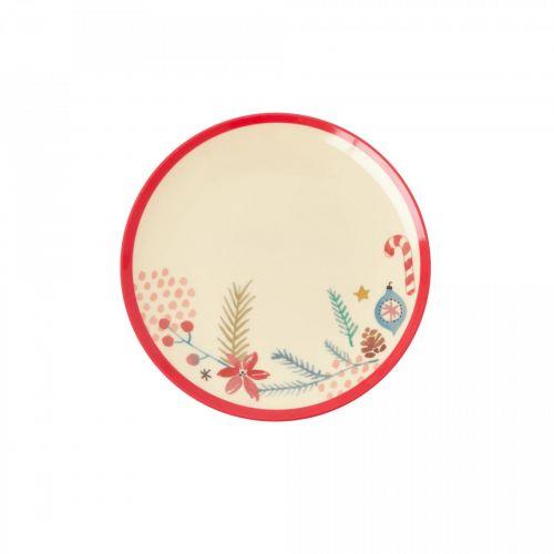 rice / Melamínový tanierik Christmas Ornaments 16 cm