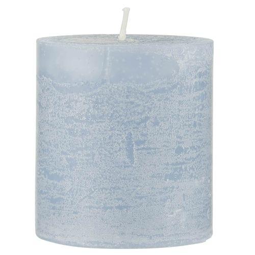 IB LAURSEN / Sviečka Rustic Candle Light Blue
