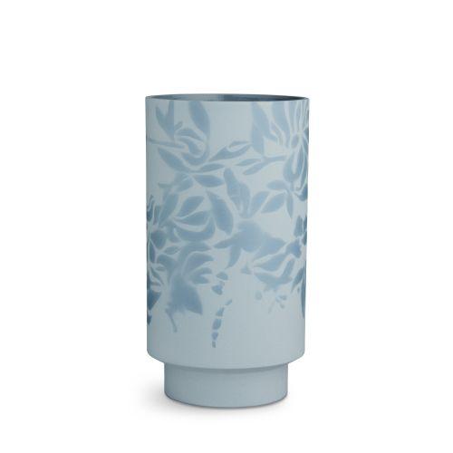 KÄHLER / Keramická váza Kabell Dusty Blue 26,5 cm