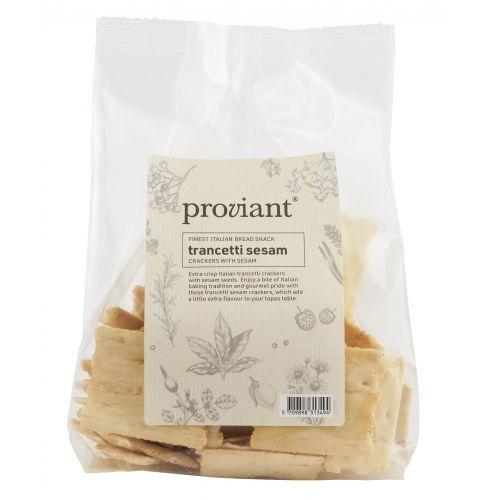 Proviant / Slané krekry Trancetti Sesam