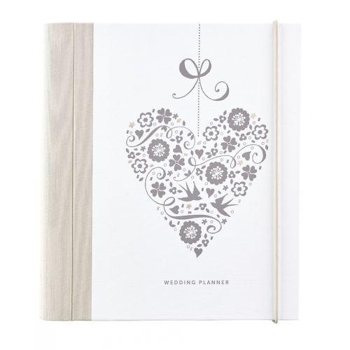 Busy B / Svadobný plánovač Wedding Planner Heart