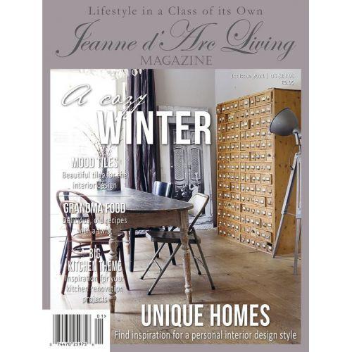 Jeanne d'Arc Living / Časopis Jeanne d'Arc Living 1/2021 - anglická verzia
