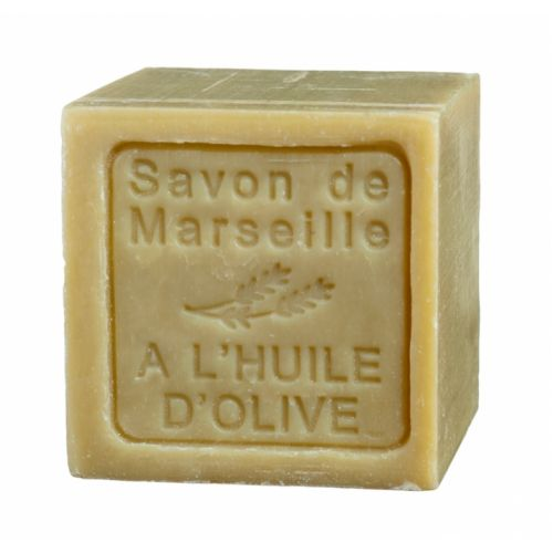 LE CHATELARD / Marseillské mydlo kocka 90 g - olivový olej