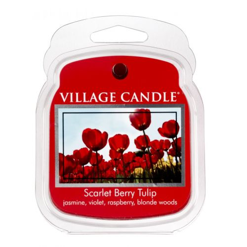 VILLAGE CANDLE / Vosk do aromalampy Scarlet berry tulip