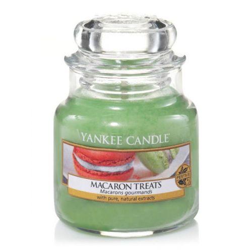 Yankee Candle / Sviečka Yankee Candle 104gr - Makrónky