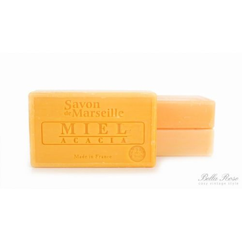LE CHATELARD / Mydlo Marseille 100 g - med a mimosa