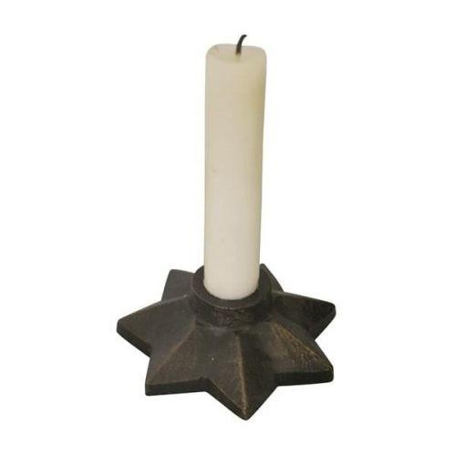 Jeanne d'Arc Living / Svietnik Dark Metal Star Ø10 cm