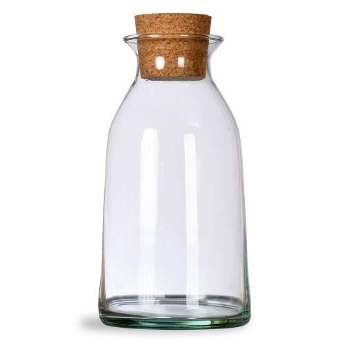 Garden Trading / Sklenená fľaša s korkovou zátkou 800ml