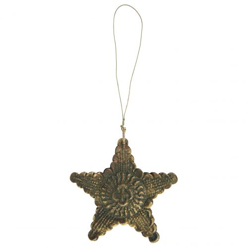 IB LAURSEN / Kovová vianočná ozdoba Antique Star