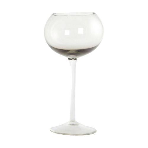 House Doctor / Pohár na víno Elegant Grey