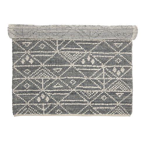 Bloomingville / Vlnený koberec Linear Triangle Dots 190 x 120 cm