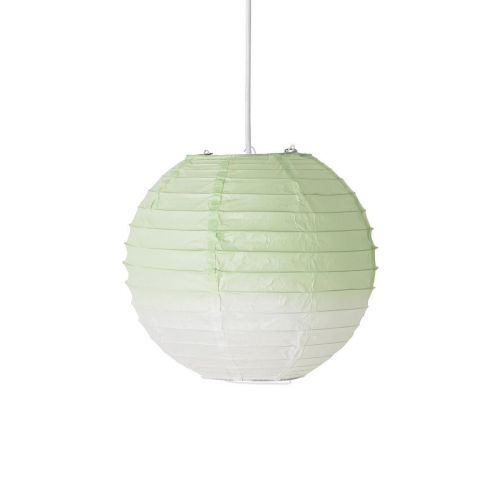 Bloomingville / Závesná papierová lampa Verde 25cm