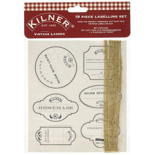 KILNER / Sada dekoratívnych štítkov Vintage Larder