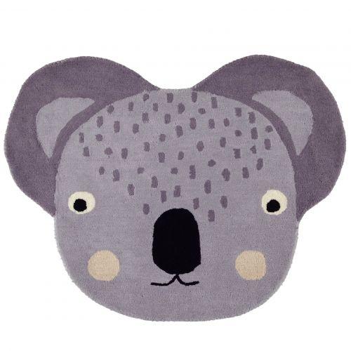 OYOY / Detský vlnený koberec Cute Koala Rug