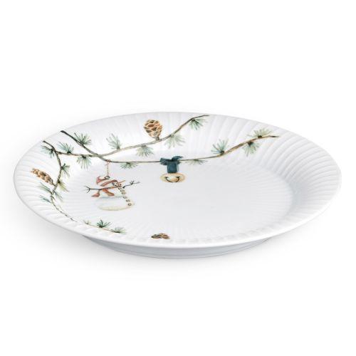 KÄHLER / Dezertný tanier Hammershøi Christmas 22 cm