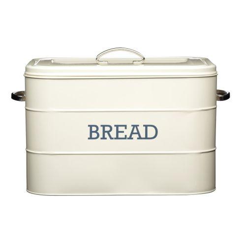 Kitchen Craft / Kovový box na pečivo Bread Cream