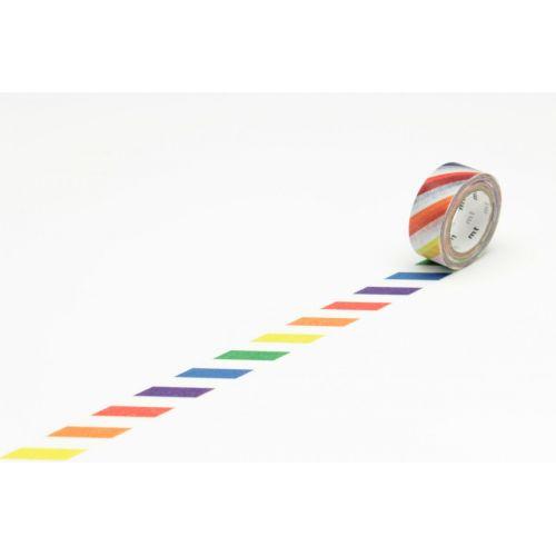 mt / Designová samolepící páska Colorful stripe