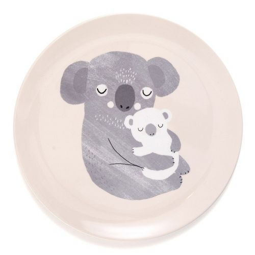 PETIT MONKEY / Detský melamínový tanier Koala