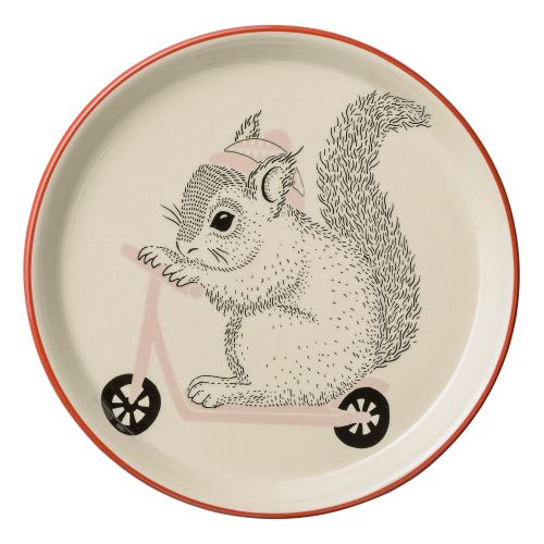 Bloomingville / Keramický tanierik Mollie Squirrel