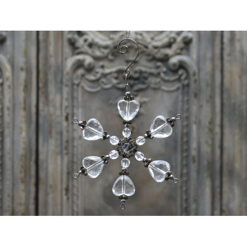 Chic Antique / Dekoratívna hviezda Crystal 13cm