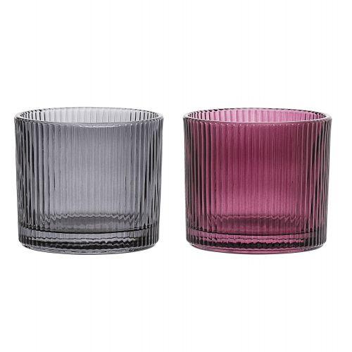 Bloomingville / Sklenený svietnik Votive Glass