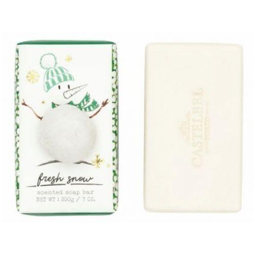 CASTELBEL / Vianočné mydlo Fresh Snow - 200 g