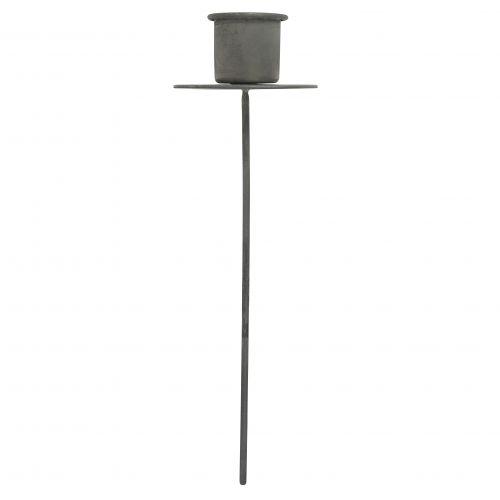 IB LAURSEN / Zapichovací svietnik na klasickú sviečku Grey