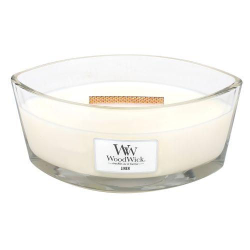 WoodWick / Vonná sviečka WoodWick Čistá bielizeň 454 g