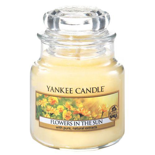 Yankee Candle / Sviečka Yankee Candle 104gr - Kvetiny na slnku