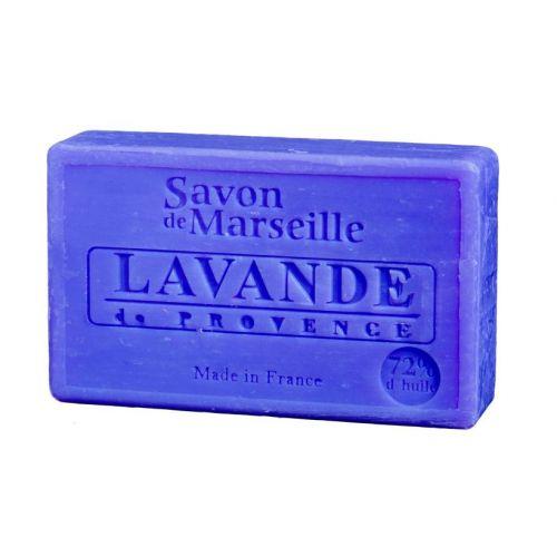 LE CHATELARD / Marseillské mydlo 100 g - levanduľa z Provence