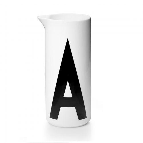 DESIGN LETTERS / Porcelánový džbán Letters