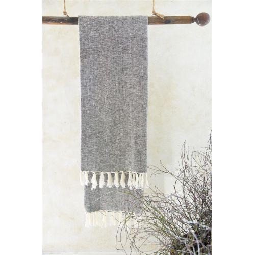 Jeanne d'Arc Living / Osuška z recyklovanej bavlny Brown 100x200 cm