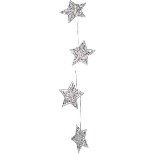 watt & VEKE / Svetelná LED reťaz Star Aurora Silver